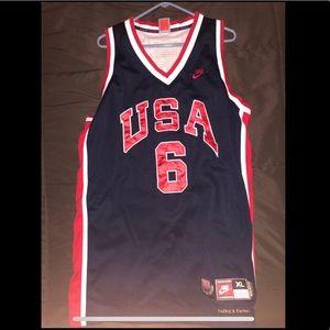 Patrick Ewing Nike USA Olympic Basketball Jersey